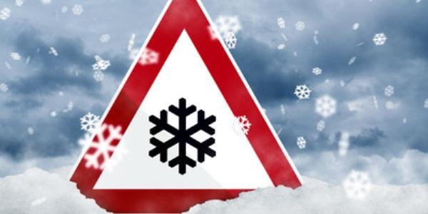 Witterungsverhältnisse auf dem Weg in den Skiurlaub